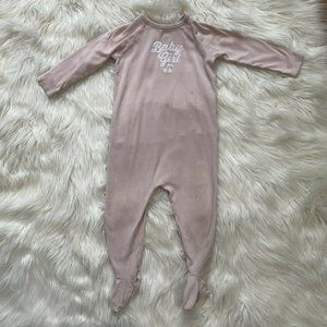 Bonpoint Girls All In One Footie Romper Playsuit